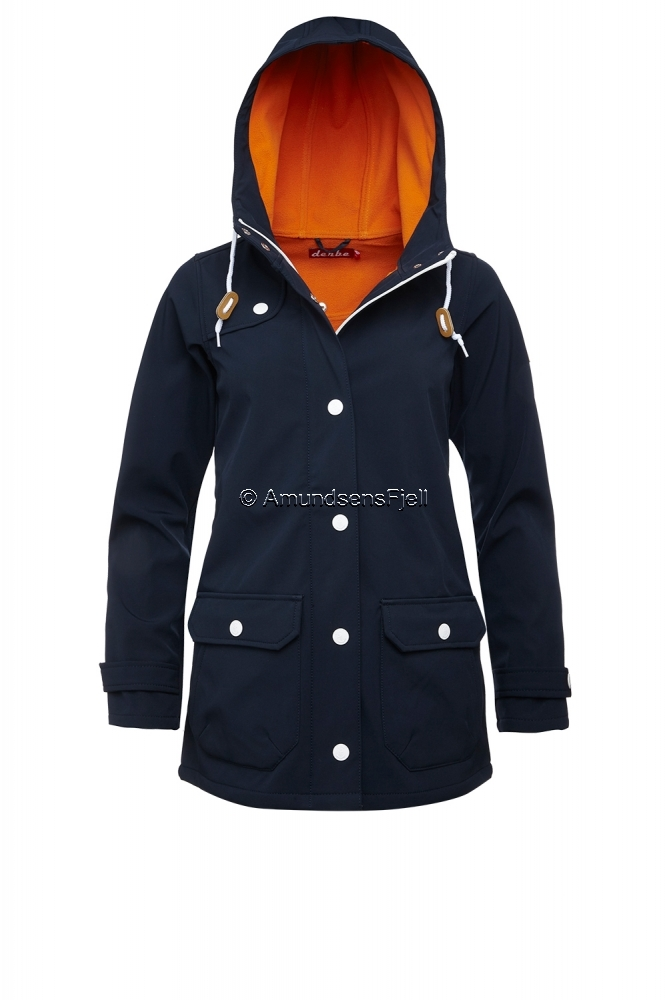 Derbe jacke orange