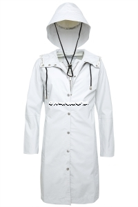 ILSE JACOBSEN Rain1 Raincoat und Hut White 3