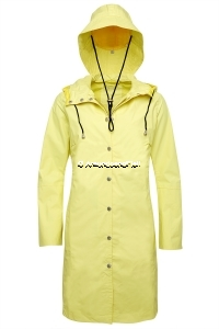ILSE JACOBSEN Rain1 Raincoat und Hut Yellow 3