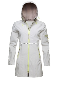 ILSE JACOBSEN Rain 07 B Softshell Raincoat Sand Atmosphere