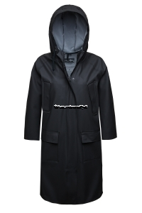 Elka Rain Jacket Skagen Long Black