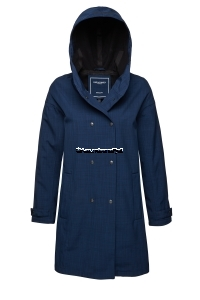 ILSE JACOBSEN Rain 72 Softshell Raincoat Dark Indigo