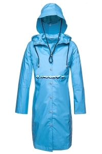 ILSE JACOBSEN Rain1 Raincoat und Hut Turquoise 3