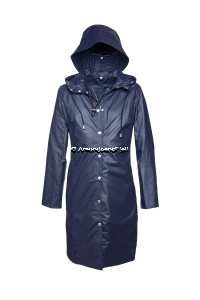 ILSE JACOBSEN Rain1 Raincoat und Hut Indigo
