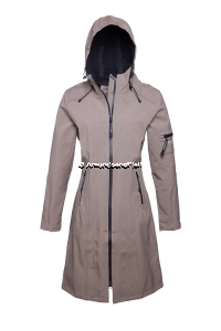 ILSE JACOBSEN Rain 06 Softshell Raincoat Dark Ash